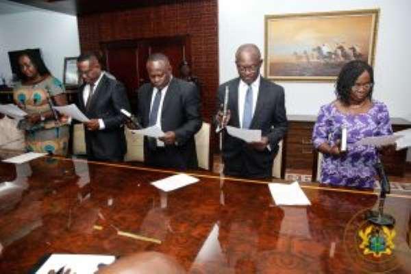 Emoluments Committee Inaugurated