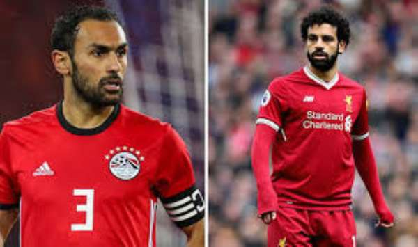 Defender Ahmed Elmohamady Confident Salah Will Lead Egypt To AFCON Glory