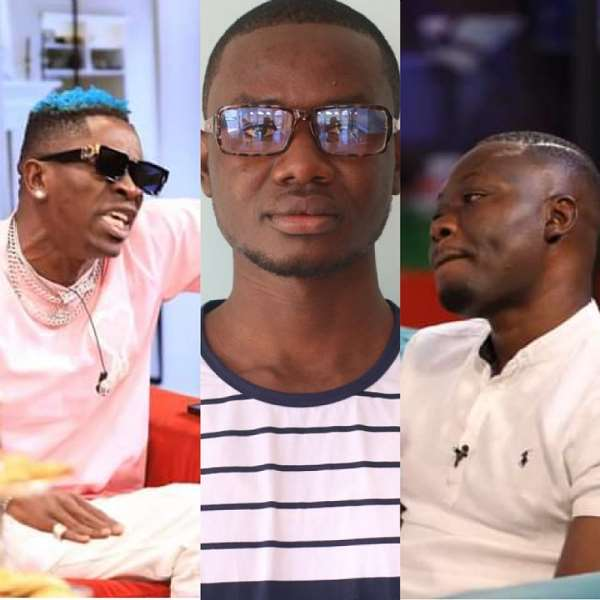 Shatta Wale And Arnold's UTV encounter: Is Shatta a bully, attention seeker or smart showbiz personality?