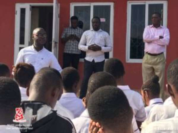 NUGS Embarks On Gas Safety Sensitization Tour In Some Selected Schools