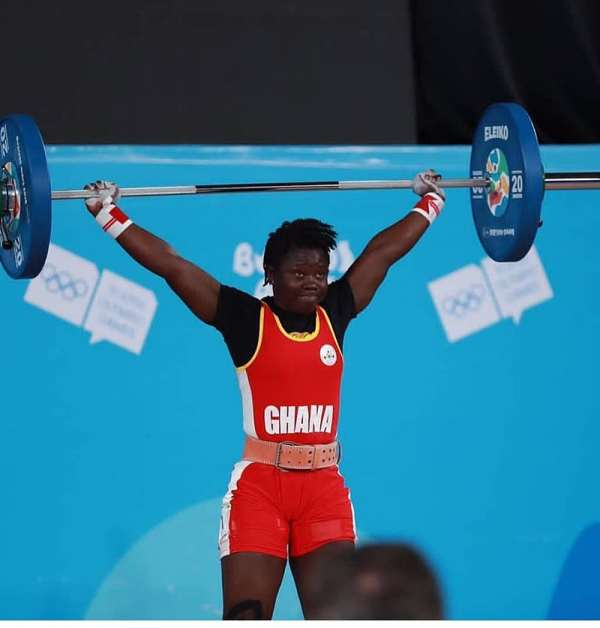 Weightlifter Sandra Owusu Share Her Sporting Experience