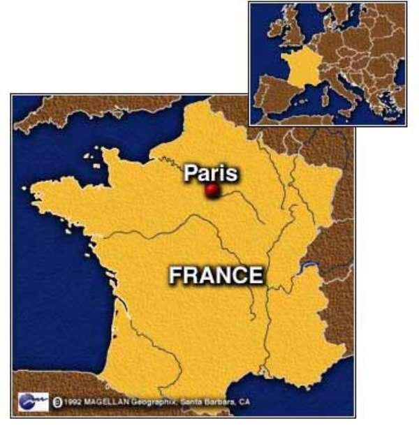 Taxi drivers in Paris donate to centre