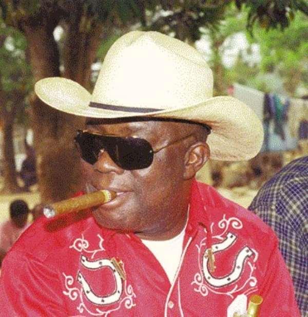 ... and Kofi Wayo Wept