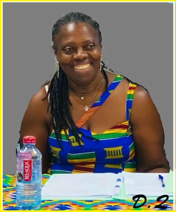 Mrs. Delphina Quaye thumps Mr. Theo Wilson Edzie to win Ghana Swimming Association President seat