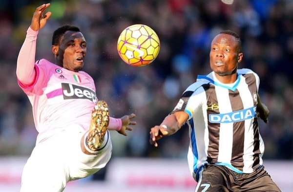Agyemang Badu praises countryman Kwadwo Asamoah for helping him to settle in Italy