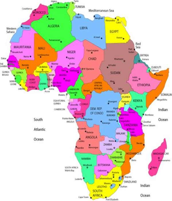The African Continent -Milking The Alredy Milked Cow