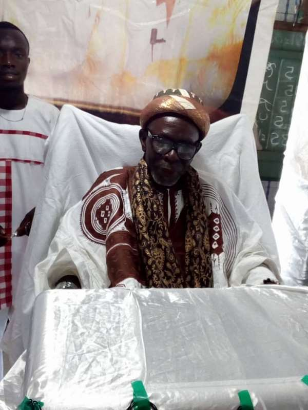 The Chief Imam for Ejura, His Eminence Alhaji Sheikh Mustapha Abubakar