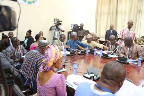 Vetting of Deputy ministerial nominees, Minister of State-designate takes off today
