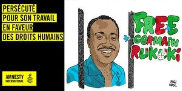 Burundi: Germain Rukuki's prison sentence cut from 32 years to one