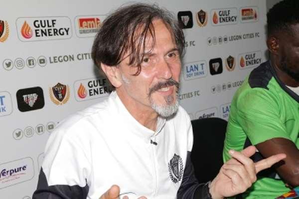 Goran Barjaktarevic: Legon Cities Coach The Highest Earner In The GPL