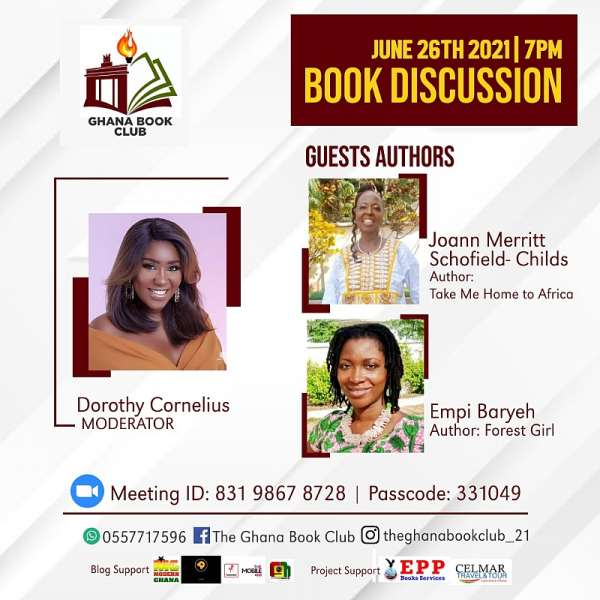 PEOPLE & LIFESTYLEEmpi Baryeh and Joann Schofield-Childs to Headline Ghana Book Club's June Discussion