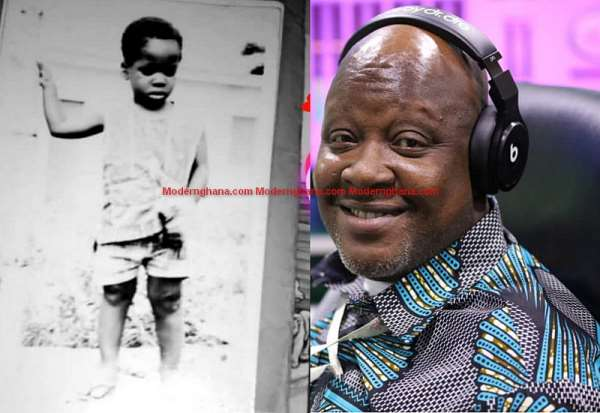 Kwame Sefa Kayi Childhood Picture Pops Up