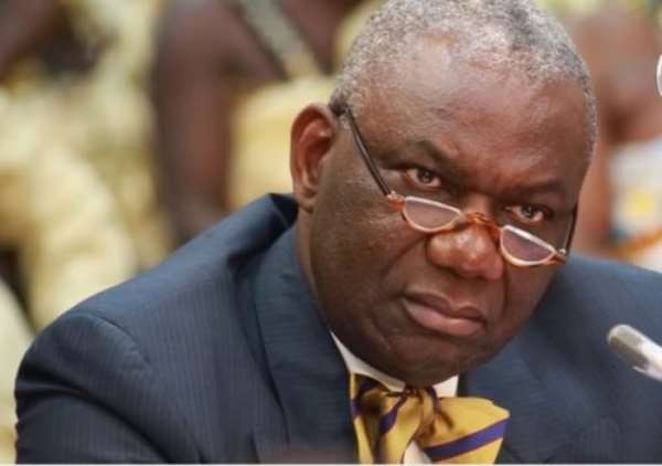 Boakye Agyarko was the Minister of Energy at the time