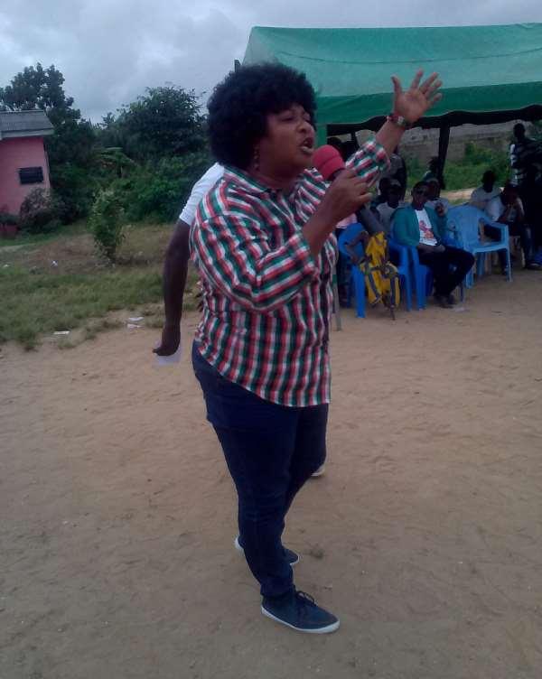 Incumbent Ellembelle NDC Women's Organizer beaten