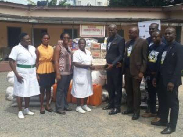 Accra Psychiatric Hospital Gets Support From FBN Bank