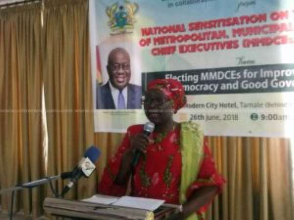 Local Government Minister Assures Election Of MMDCEs Will Definitely Happen