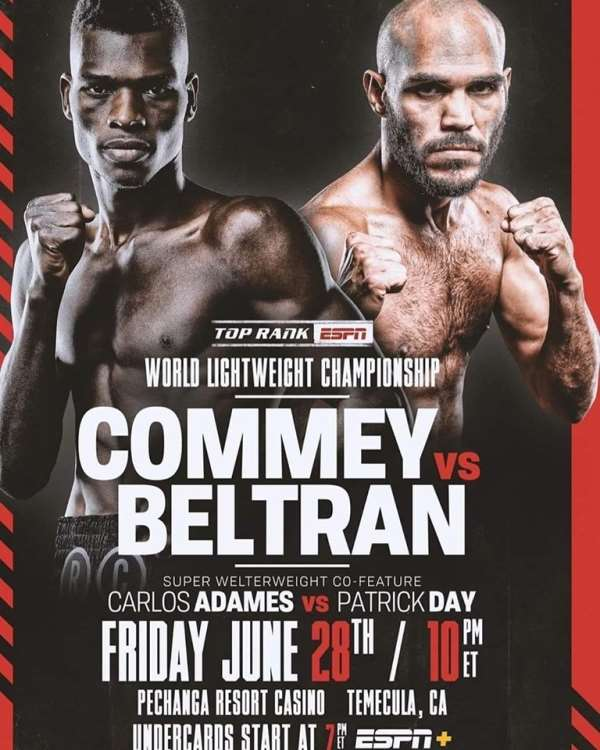Richard Commey Ready To Rumble In First IBF Title Defence