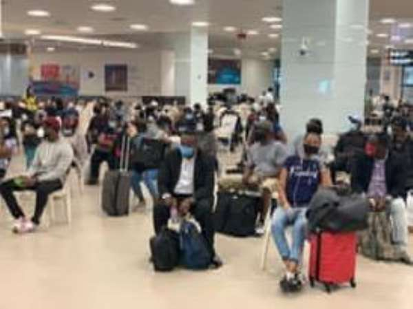Covid-19: 284 Stranded Ghanaians Return From US
