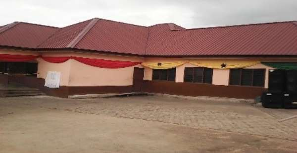 Kwahu West Assemby Opens New GH¢ 300,000.00 Slaughter House