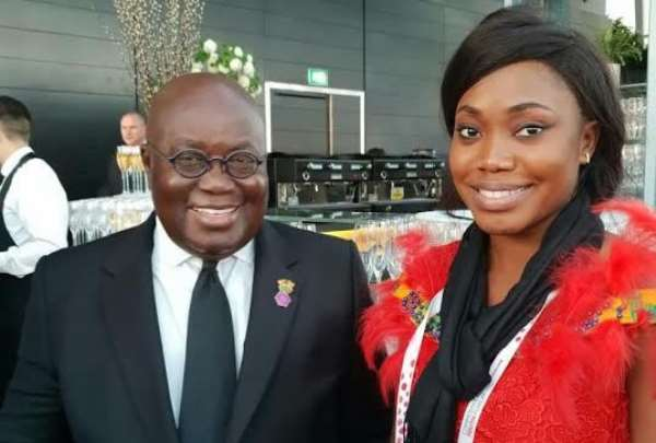 Abena Dugan 1st Ghanaian Vice Chair of Commonwealth Youth Council