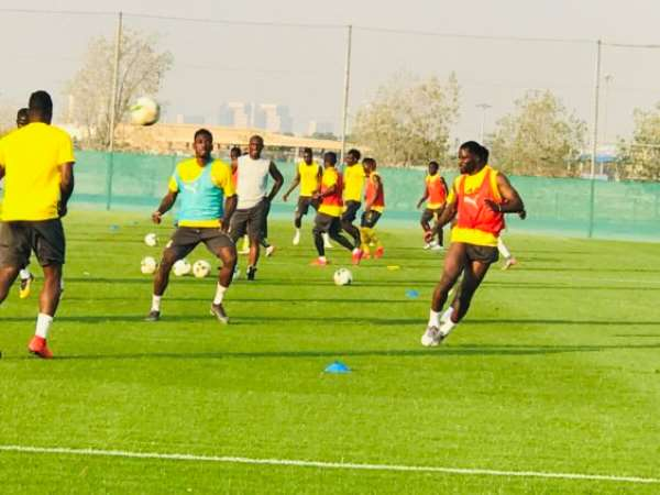 """Black Stars in usual """"jama"""" session ahead of Cameroon cracker"""