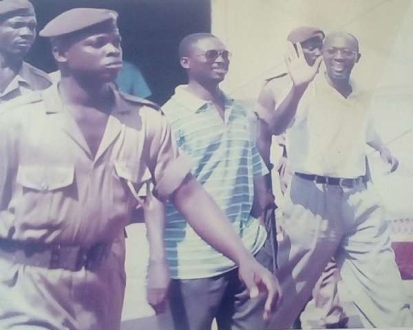 Flashback: Bail denied. Back to jail