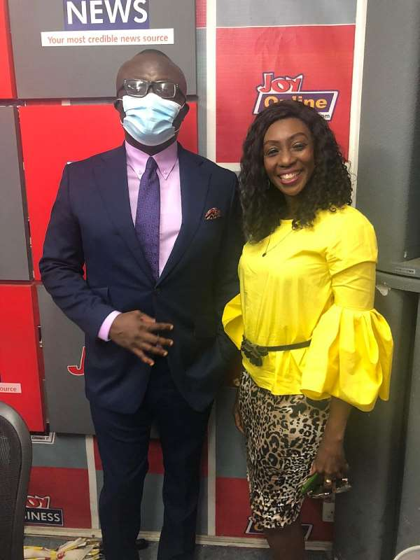Bola Ray & EIB Network Join Doreen Andoh Of Joy FM To Celebrate 25years On Radio [Video]