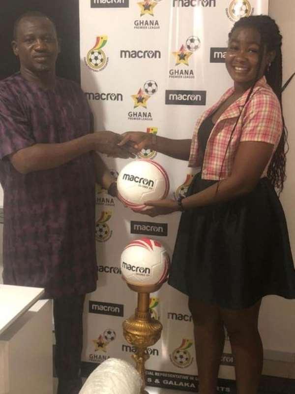Macron Ghana CEO congratulates football fans for promoting GHPL