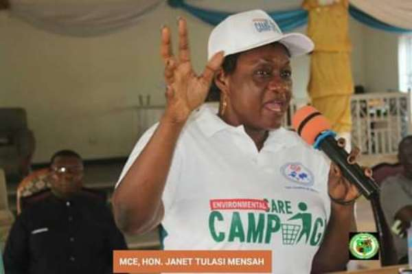 Pure Water Can Become East Legon If You Unite -Ga East Mce Charges Residents As She Rallies Support To Address Flooding In The Area
