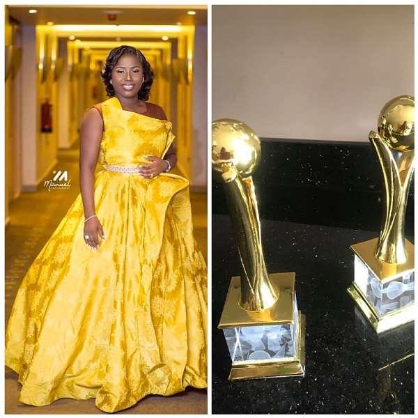 AGMMA19: Diana Hamilton Bags Two Awards