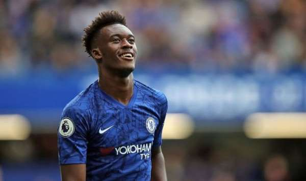 Chelsea's Hudson-Odoi arrives in Ghana after champions league victory