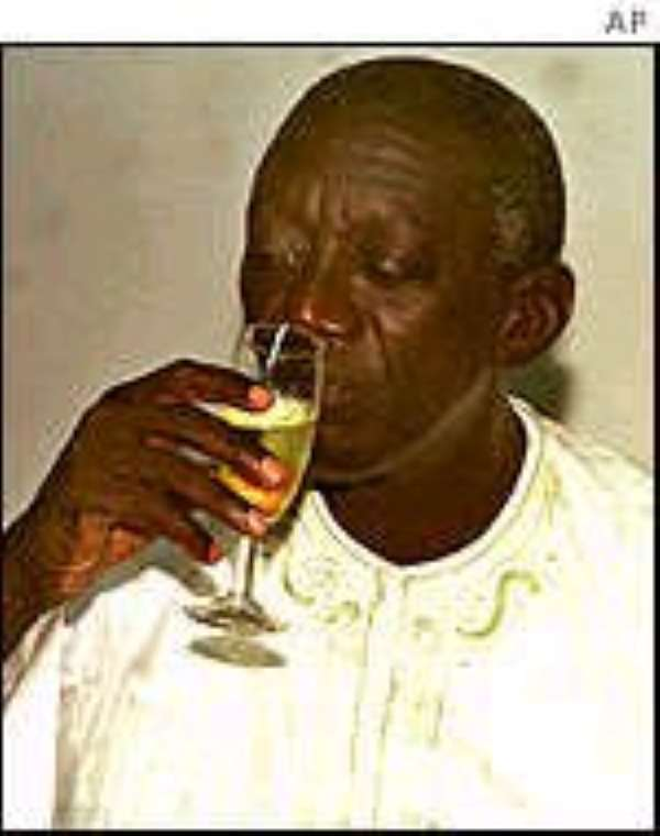 Is President Kufuor in Charge or .....