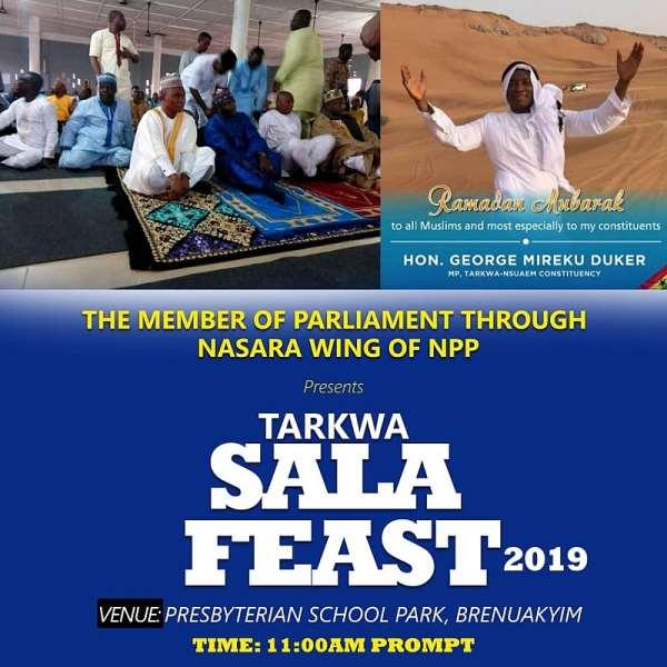 Eid-Ul-Fitr: Tarkwa-Nsuaem MP Wish Muslims Well