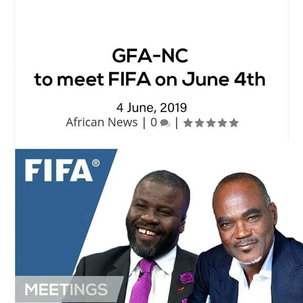 FIFA To Hold Talks With Ghana FA Normalisation Committee In Paris