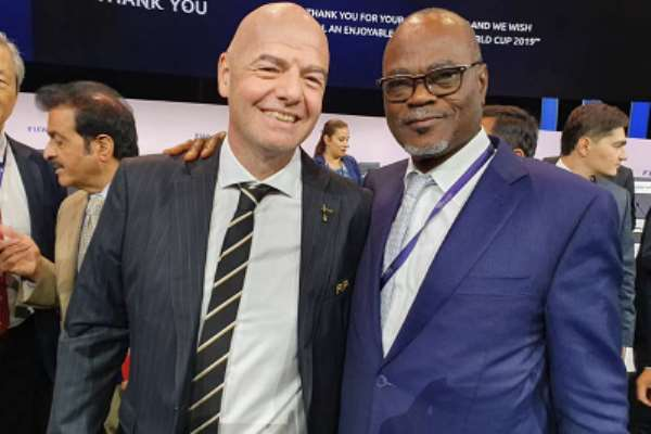 NC Chairman Dr Kofi Amoah Hails Gianni Infantino's Re-Election