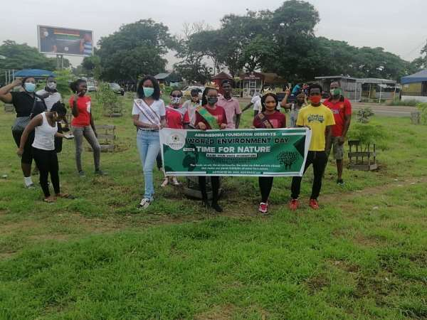 """AERC Ghana And Partners Commemorates World Environmental Day 2020: """"Lets Prioritize Nature-Based Solutions As A Nation"""""""