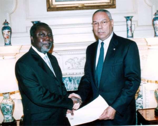 Ghanaian Envoy Commends U.S. Leadership Role in War on Terror
