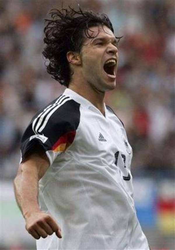 Germany Look For Positive Start Despite Ballack Blow