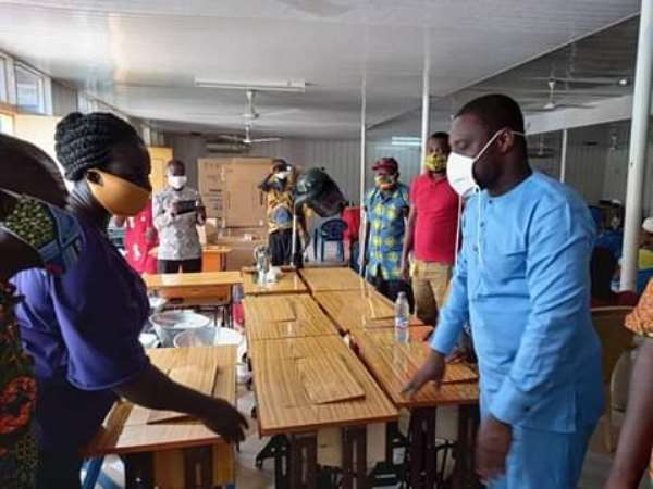 E/R: Kwahu East District Assembly Supports People Living With Disabilities