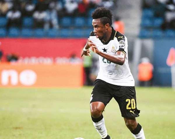 Ghanaian International Samuel Tetteh