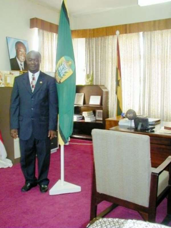 Kumasi Metro Chief Executive receives award