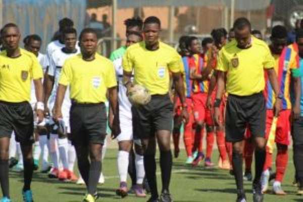 GFA Suspends All Local Football Games