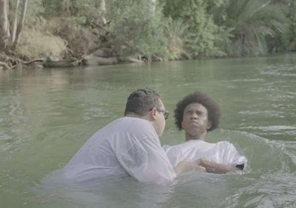 Willian Gets Baptised In River Jordan As He Awaits New Chelsea Deal