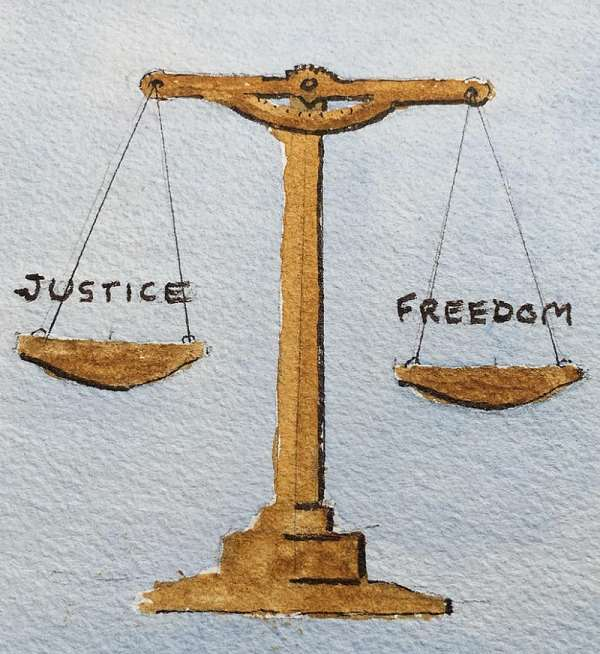 We don't need the laws of a dictator. We want FREEDOM and JUSTICE from a revolution of the laws for all.