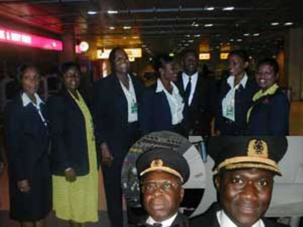 Ghana Airways Management Clash With Cabin Crew