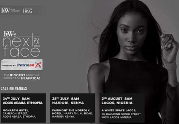 AFRICA IS READY FOR THE 2018 EDITION OF FEW'S NEXT FACE AFRICA
