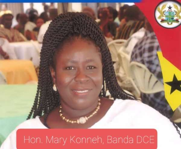 Retain performing, Banda DCE, Mary Konneh