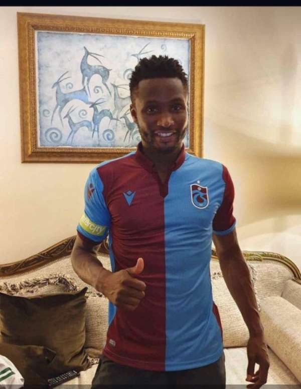 John Obi Mikel Joins Turkish Side Trabzonspor