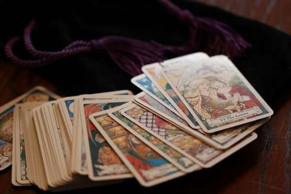 Cards used by witches
