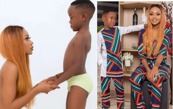 Akuapem Poloo Apologises For Posting Nude Picture With Her Son
